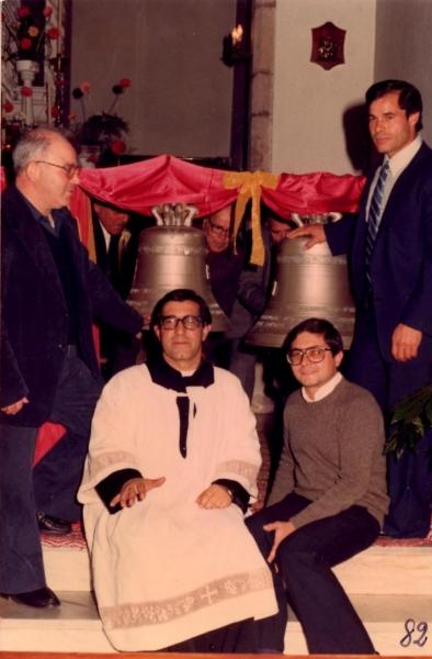 Benedizione delle Campane. 1982 (f. B. Ladu)