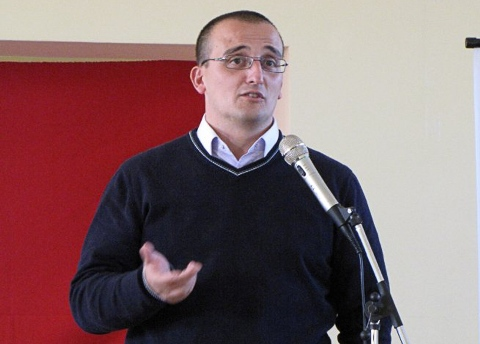 Efisio Arbau, leader del movimento La Base.