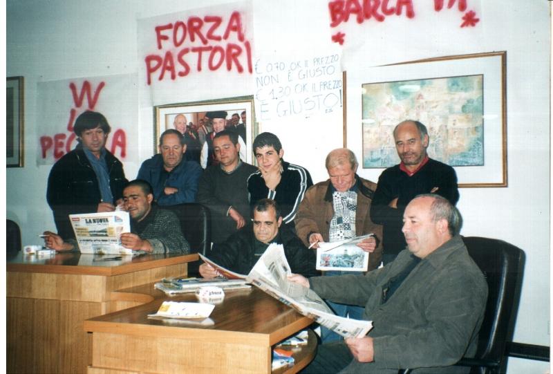 Pastores in protesta.