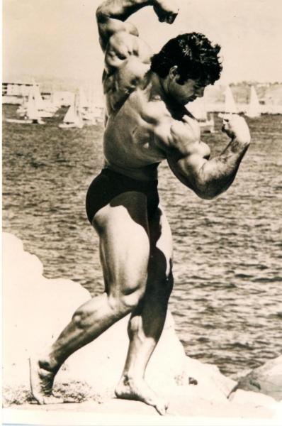 Ollolai. Franco Columbu