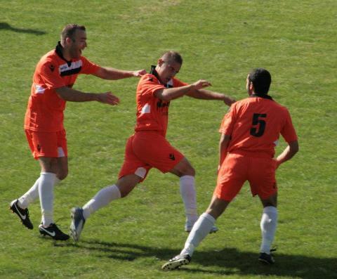 Gianluca Littarru, oggi ha segnato due gol.