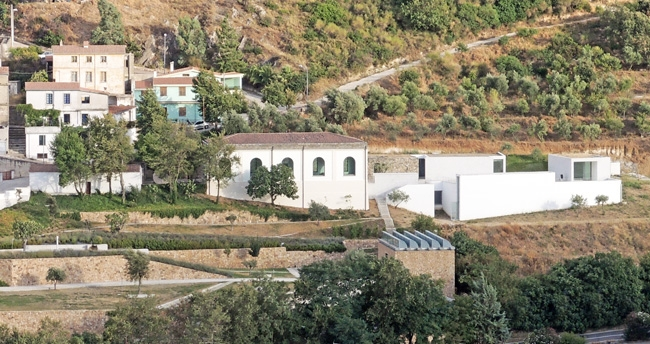 panoramica esterna museo Nivola