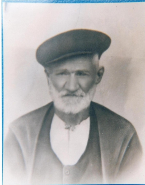 Nonno di Barotolomeo Ladu. Foto B. Ladu Ollolai.