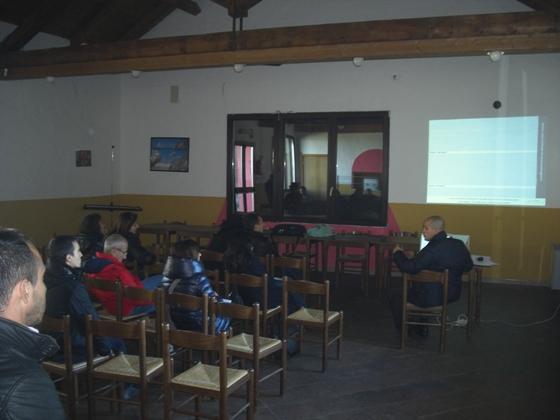 La presentazione del progetto oggi al rifugio