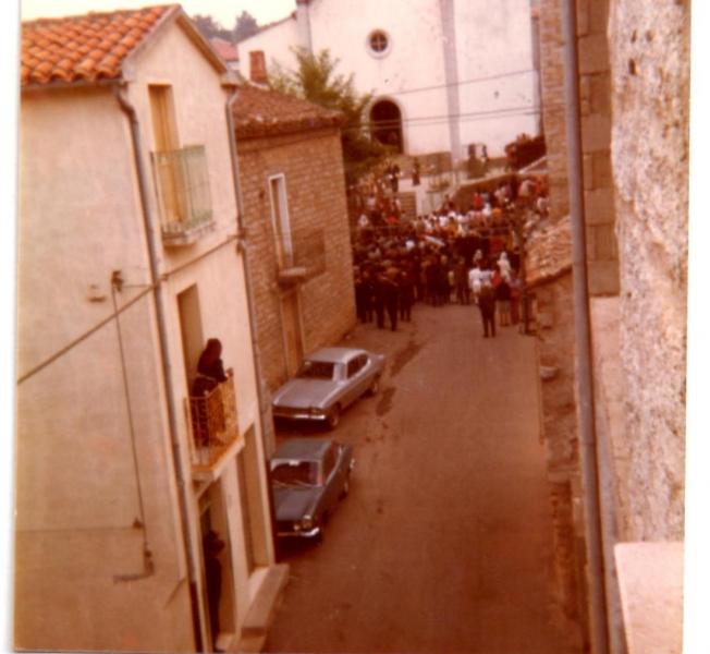 Ollolai. Processione anni '70.