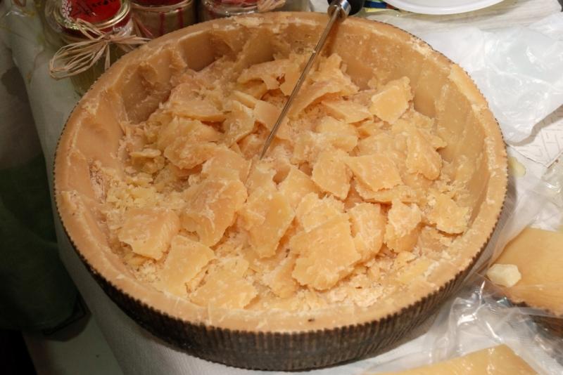 Il formaggio Maimone del caseificio Erkìles (foto G Murgia)