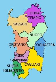 Sardegna Cartina Province.No Alle Semplificazioni Percorsi Certi E Definiti Adesso Il Comunicato Dei Dipendenti Delle Provincia Esarde