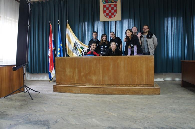 I giovani barbaricini in Croazia