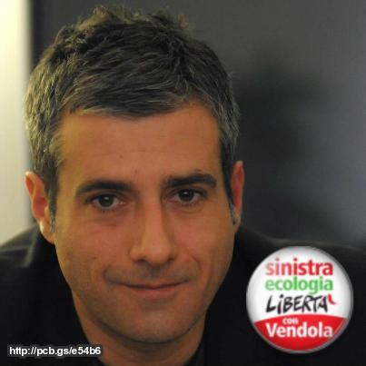 Michele Piras, segretario regionale Sel