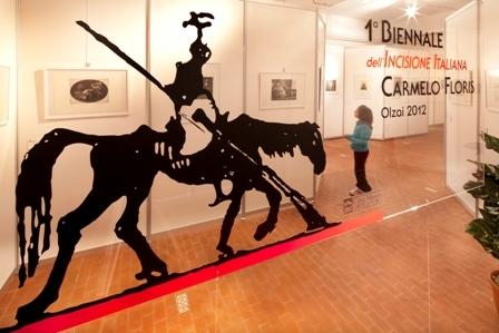 La mostra della biennale di Olzai (F. D. Tore)