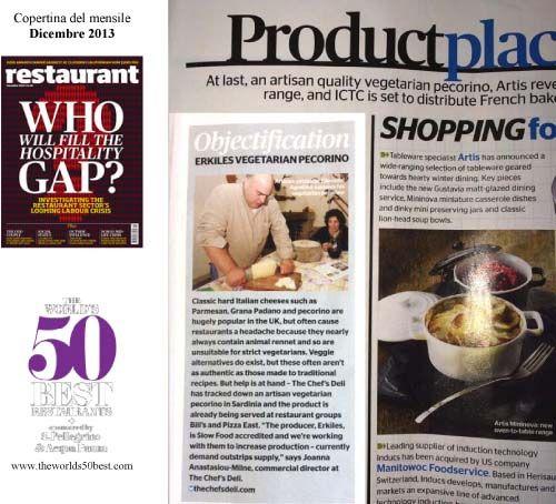 Il servizio pubblicato dalla rivista inglese Restaurant Magazine