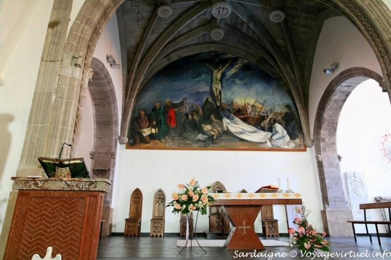 Interno della Chiesa di San Giovanni Battista a Fonni