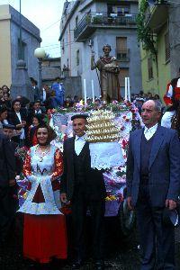 La processione di San Giovanni Battista a Fonni