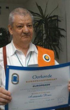 Armando Pira incoronato
