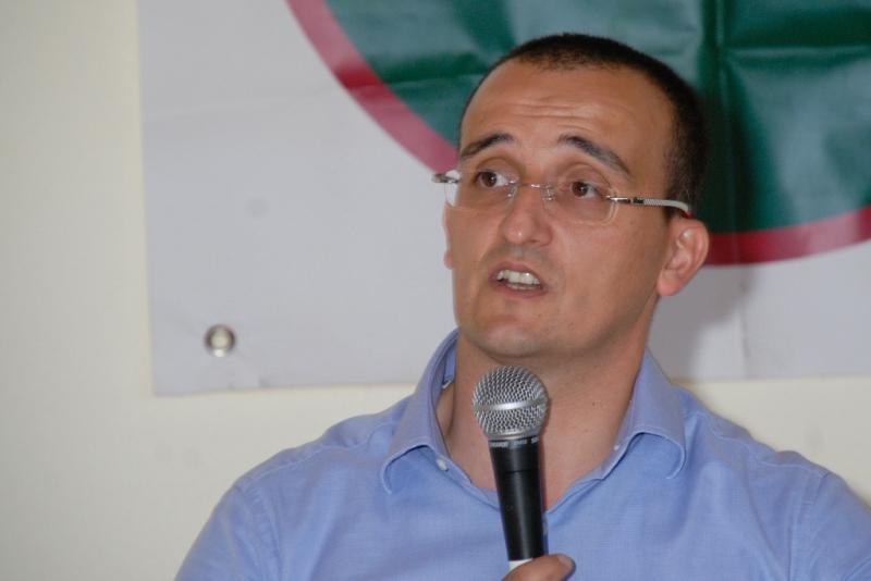 Efisio Arbau, consigliere regionale. (foto G. Murgia)