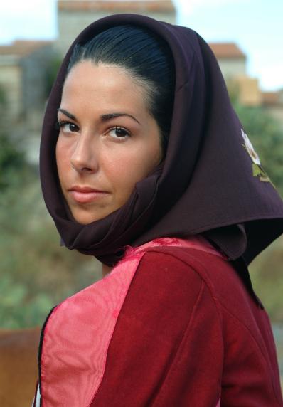 Donna in costume di Orotelli