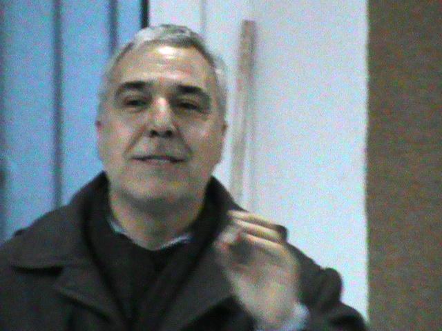Il sindaco Franco Pinna
