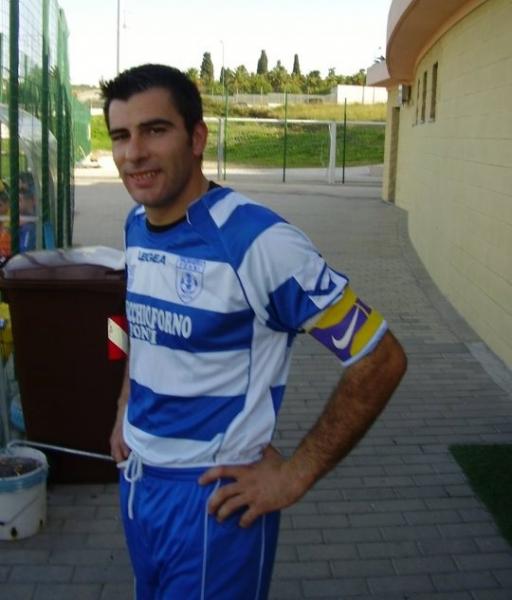 L'allenatore del Fonni Giacomo Coinu