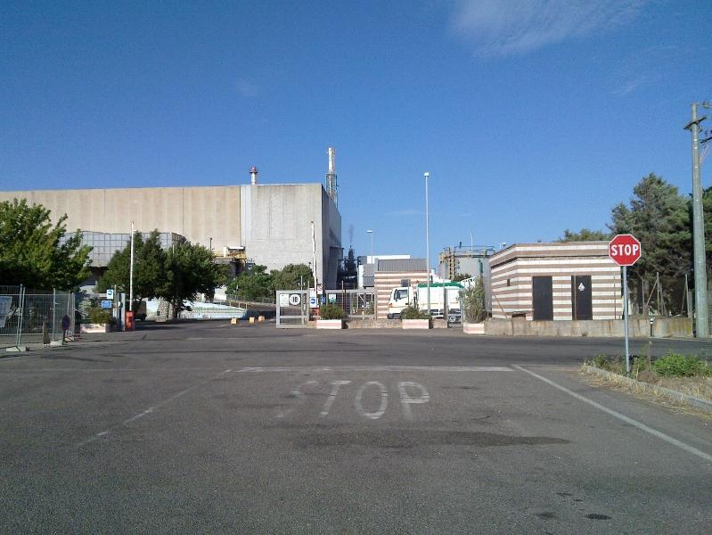 L'inceneritore di Tossilo. Foto macomernotizie.net