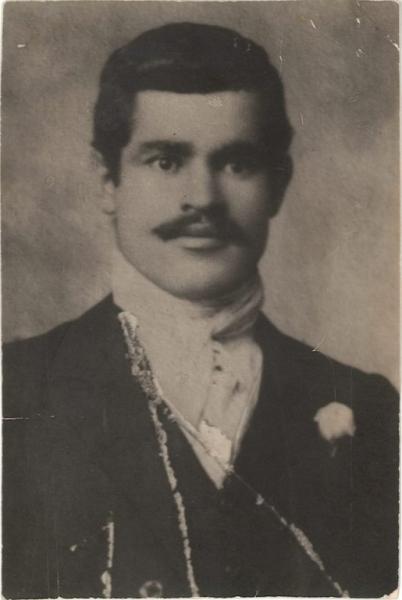 Il poeta Mitri Urru (F. Ass. Culturale S'Isprone)