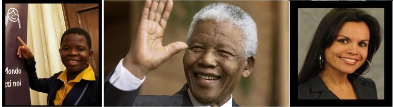 Maud Chifamba, Nelson Mandela, Mariangela Pira