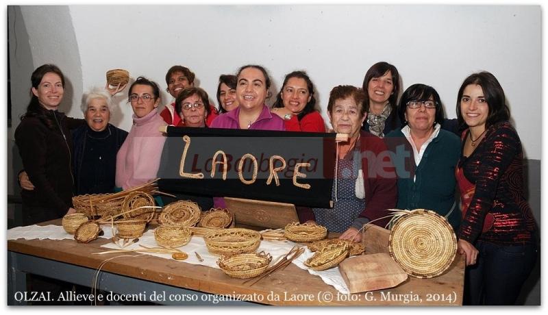 OLZAI. Allieve e docenti del corso organizzato da Laore (© foto: G. Murgia, 2014)