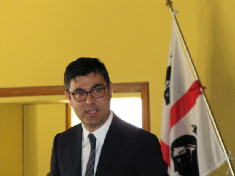 Il sindaco di Nuoro Andrea Soddu (F. Massimo Zara)