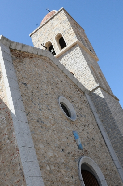La chiesa parrocchiale di Ollolai dedicata a San Michele Arcangelo