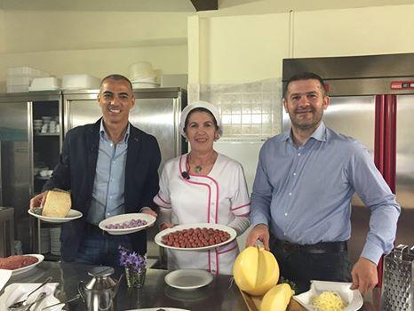Emanuele Dess', Peppina Balloi e Fabrizio Mureddu
