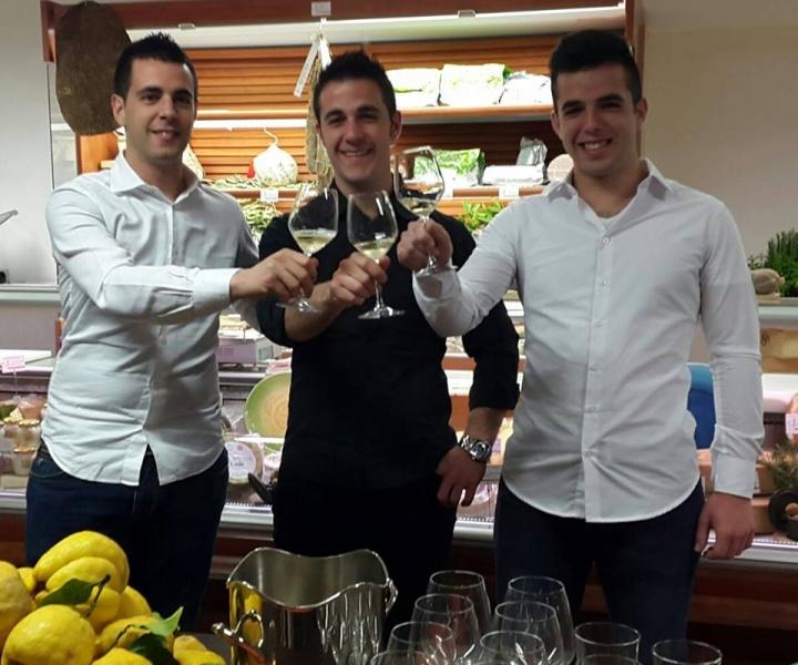 Fabio, Roberto e Valerio Paddeu
