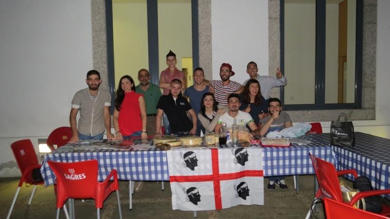 I giovani barbaricini in trasferta in Portogallo (Malik Identità)