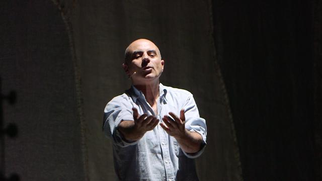 Giovanni Carroni in scena