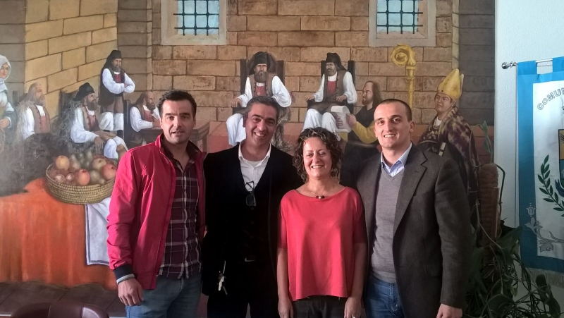 Efisio Arbau, Sebastiano Casula, Enrico Murgia e Valeria Sanna