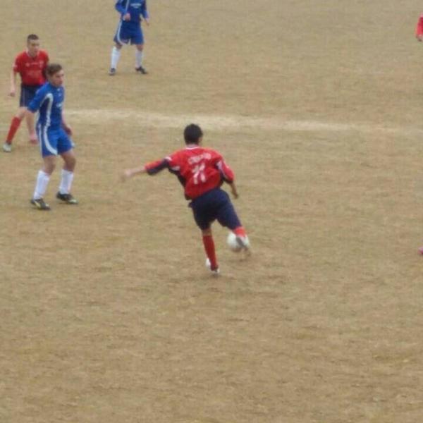 Matteo Loggias in azione