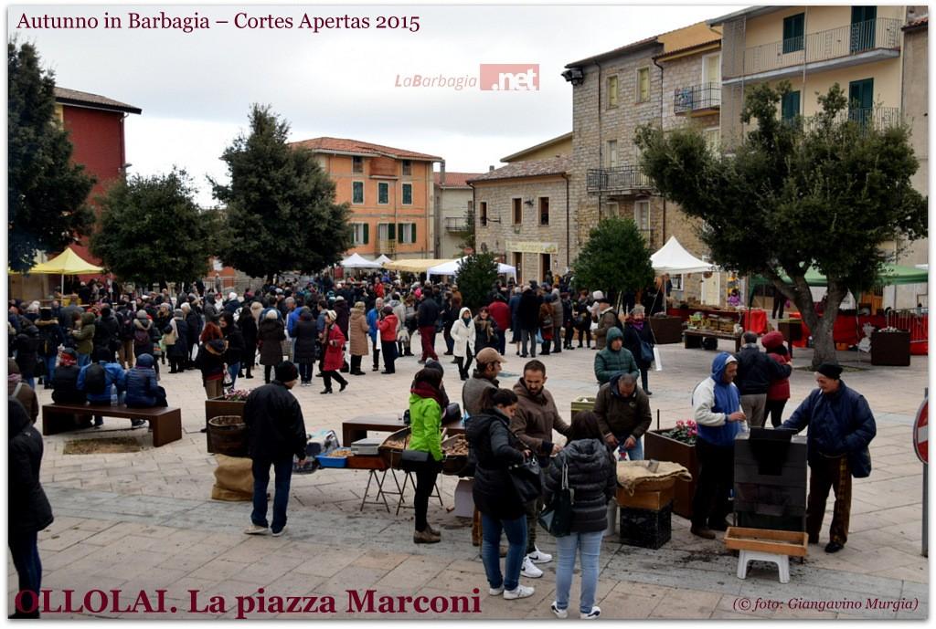 Piazza Marconi ieri