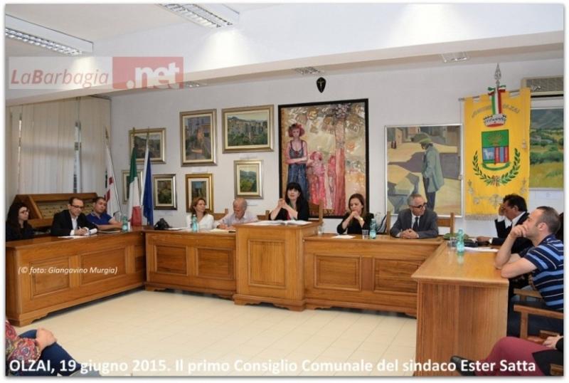 Il nuovo consiglio comunale di Olzai (F. G. Murgia)