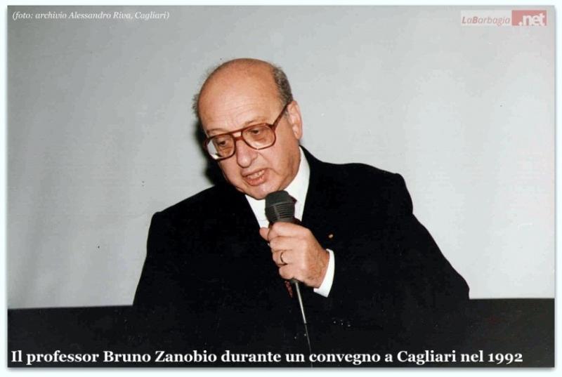 Il professor Bruno Zanobio (F. Alessandro Riva)