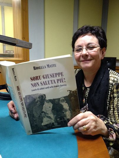 La scrittrice Rossella Mattu