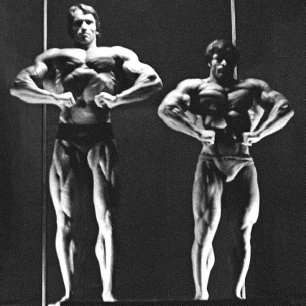 Schwarzenegger e Franco Columbu