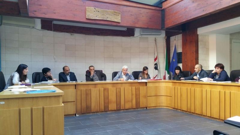 Un'immagine della riunione con Paci a ottobre 2015