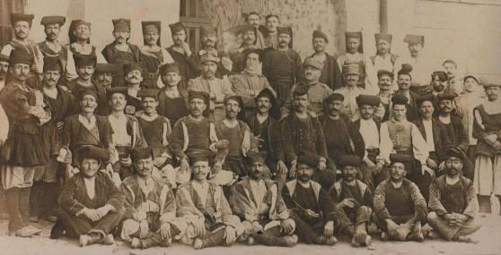 Soldati sardi della Grande Guerra (immagine tratta da ulisse-compagnidistrada.blogspot.com)