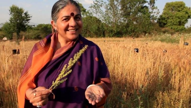Vandana Shiva (F. greenreport.it)