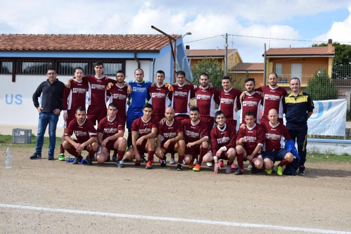 La squadra dell'Ollolai