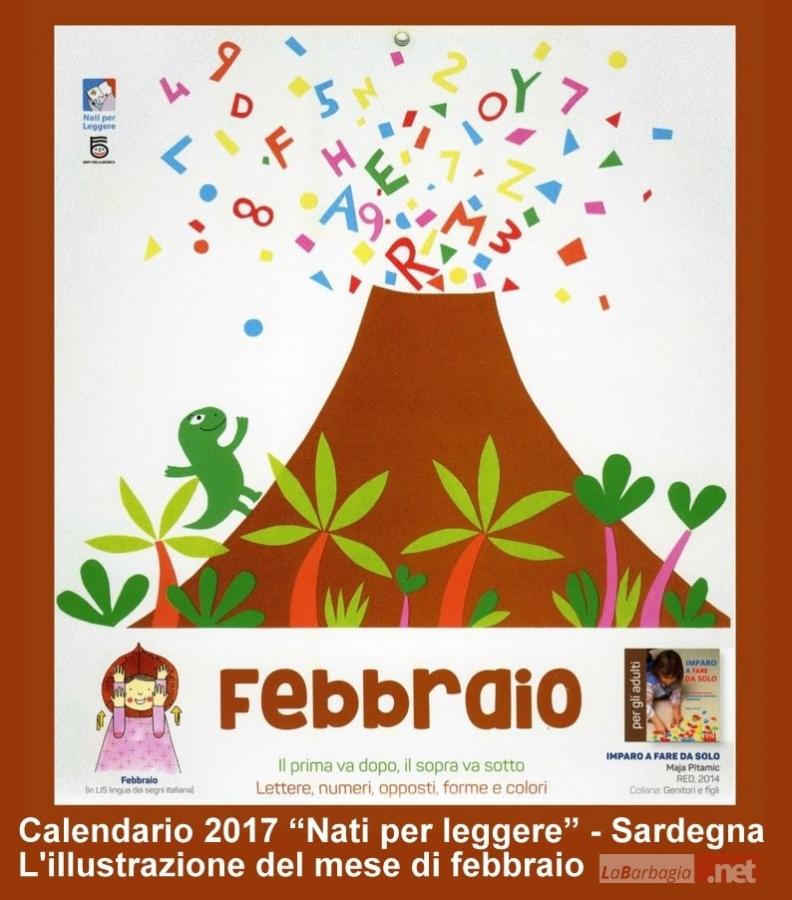 Calendario Solo Numeri.Gavoi Il Calendario 2017 Nati Per Leggere Un Anno Di