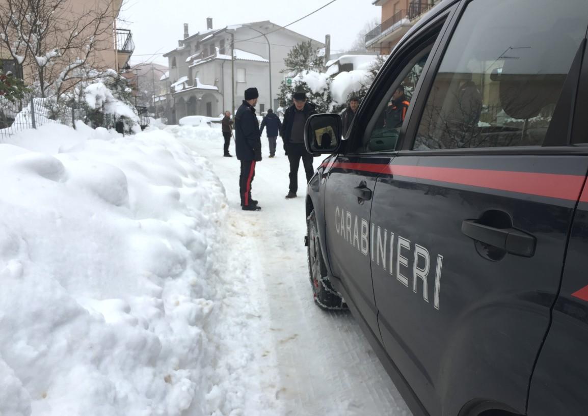 I Carabinieri a Ollolai