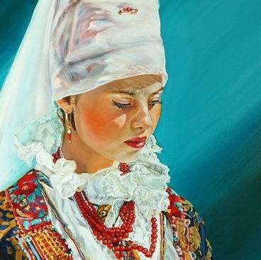 Una delle opere di Cristina Maddalena