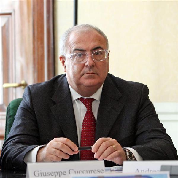 Il direttore del Banco di Sardegna Giuseppe Cuccurese