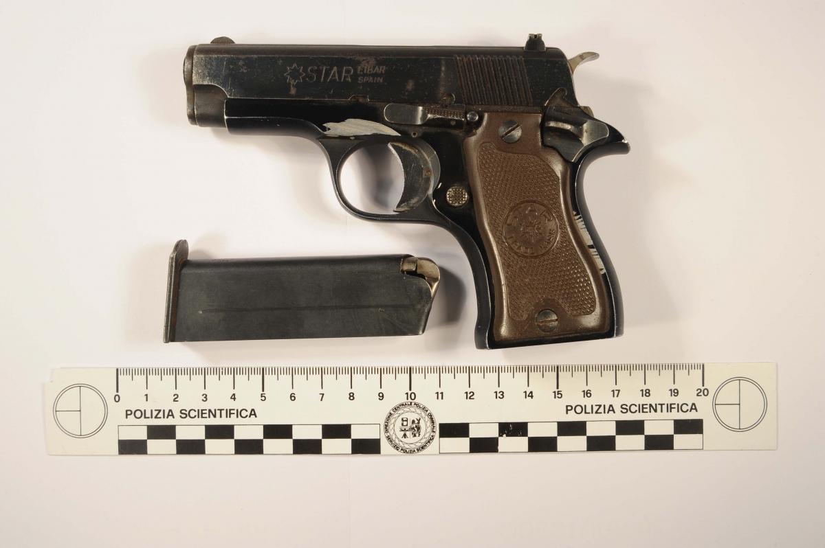 La pistola utilizzata