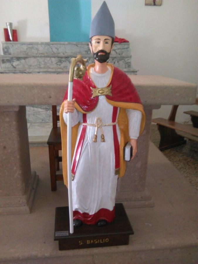La statua restaurata.
