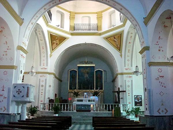 Interno della chiesa parrocchiale di Sarule